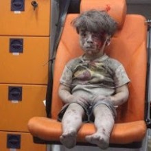 [Aleppo: Kind als Propagandaträger]