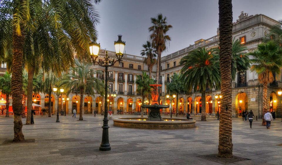 Royal Square, Barcelona