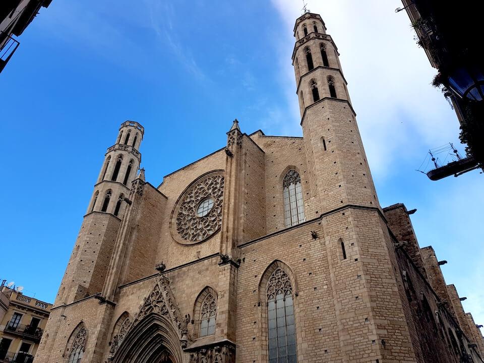 Santa Maria del Mar, Barselona