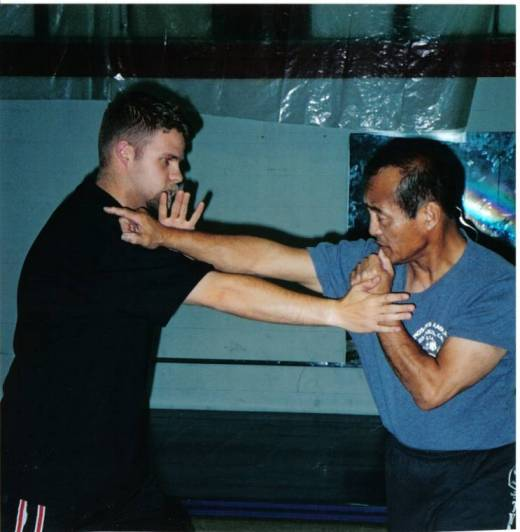 Martial arts split entry