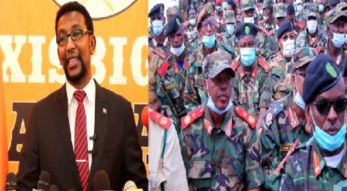 Xisbiga Waddani iyo Ciidamada Milateriga Somaliland