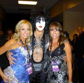 Kristina McGrath, Paul Stanley & Billie Jo O'Brien