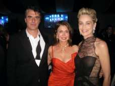 Irene with Chris Noth & Sharon Stone