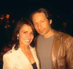 Irene & David Duchovny
