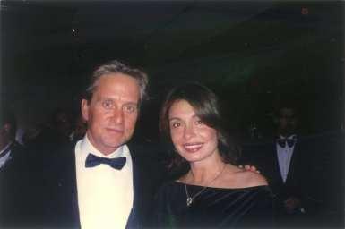 Irene & Michael Douglas