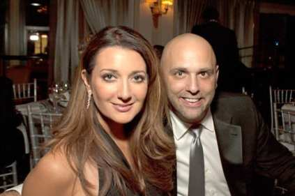 FOX's Anna Davlantes & husband David Gamperl - photo by Richard Chen