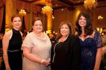 Fur Ball Co-Chairs Rita Moore, Joanna Mallers, Sandy & Lauren Walfish, photo by Malia Rae Photography