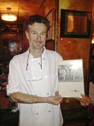 Giuseppe Garofato Chef at Campo de Fiori