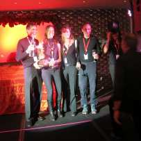 Celebrating Their Award