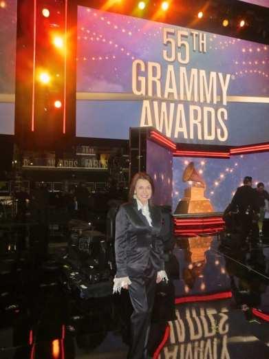 Irene at the Grammys