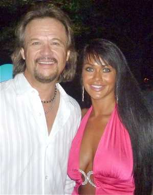 Travis Tritt & His Beautiful Wife