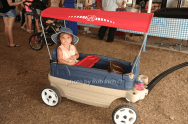 Grace Numa tours the horseshow in style