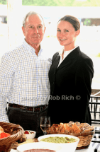 Mayor David Bloomber and daighter Georgina Bloomberg