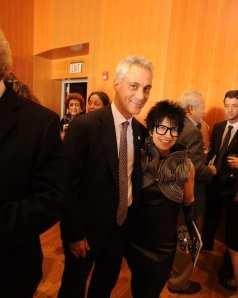 Mayor Rahm Emanuel and Elaine Cohen (Live! Marketing)