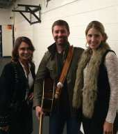 Irene Michaels, Josh Turner and his wife Jennifer Ford
