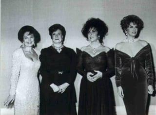 Carol Connors, Madame Sadet, LIz Taylor & Racqual Welch