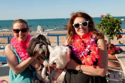 Mary Goldberg & Linda Leahy with Tobby Bear & Twigs