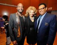 Lewis Williams - Dona Williams, Board - Michael Foster, Board Chair - photo by Jennifer Wolfe