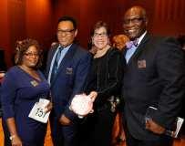 Claudette Smith, Board Vice Chair - Michael Foster, Board Chair - Judith Blank, Board - Alex Felton, Board Secretary - photo by Jenn