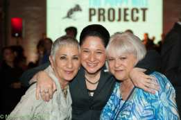 Cari Meyers of Chicago, Chicago City Clerk Susana Mendoza of Chicago, Dee Santucci of Naperville