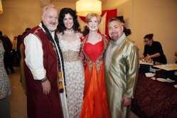 Chef Art Smith, Debi Lily, Margaret O'Connor, Jesus Salgueiro