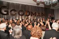 "Guests dancing to The Gentleman of Leisure at the Goodman Theatre ""Sequins and Soul"" Gala (May 20, 2017) 