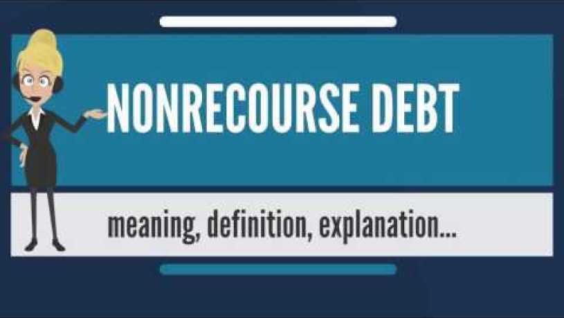 Is Unsecured Debt Recourse Debt