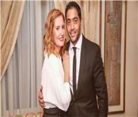 شاهد  زواج أحمد فلوكس وهنا شيحة في حفل عائلي