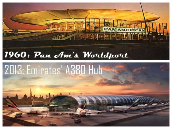 Worldport vs Emirates A380 Hub