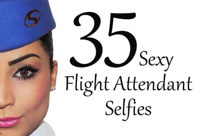 Flight Attendant Selfies