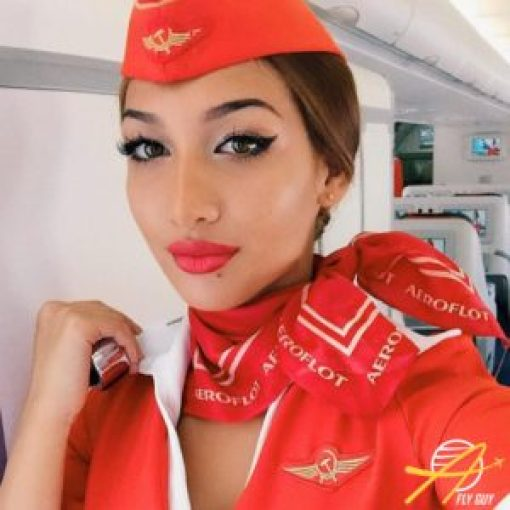 Aeroflot cabin crew