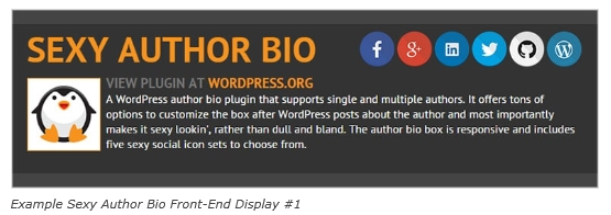 plugin sexy author bio