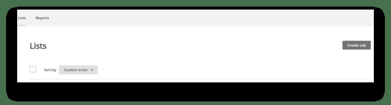Mailchimp Tutorial Create a List