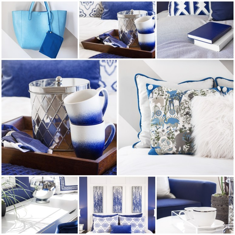 Interior Home Blue Stock Photos for your Blog or Instagram