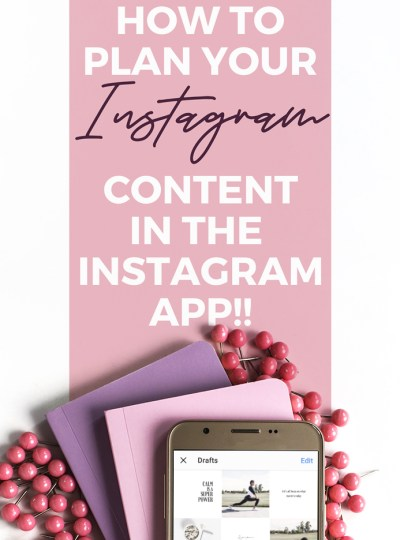 How to plan and preview your Instagram content in the Instagram App