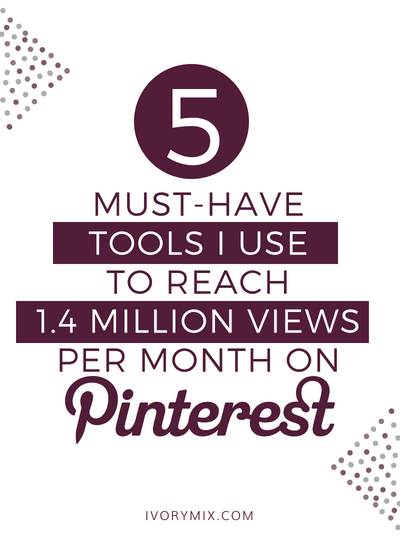 My 5 Must-Have Pinterest Marketing Tools (to get more repins!)