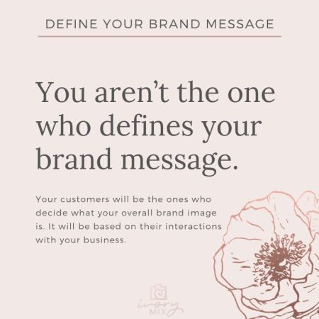 Complete Guide to Branding Your Blog and Business - Define your brand message