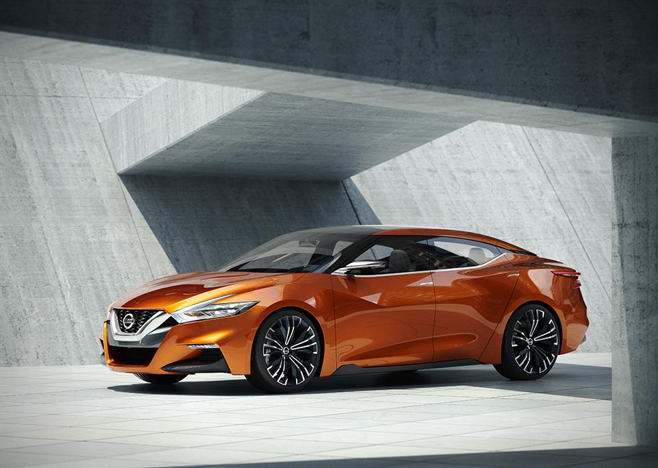 NEWS: The 4DSC is back! Nissan Sports Sedan Concept ...