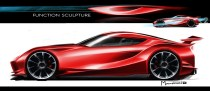 Toyota FT-1 concept sketch 03