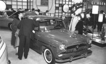 1960 Chicago Auto Show Toyopet Crown