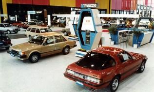 1983 Chicago Auto Show Mazda