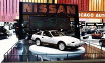 1984 Chicago Auto Show Nissan 300ZX