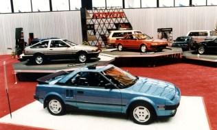 1985 Chicago Auto Show Toyota AE86