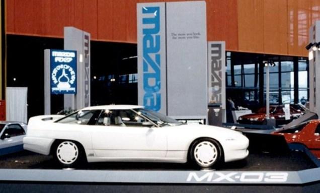 1986 Mazda MX-03 Concept Chicago Auto Show