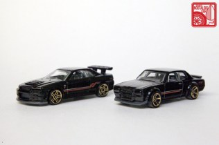 Hot Wheels Then & Now Nissan Skyline hakosuka GTX R34