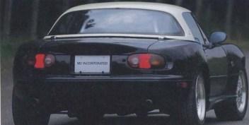 Mazda M2 1006 MX-5 Miata rear