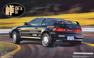 Fujimi Touge Honda CRX Si