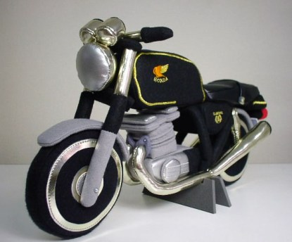 Rocket Craft plush Honda GB250 Clubman
