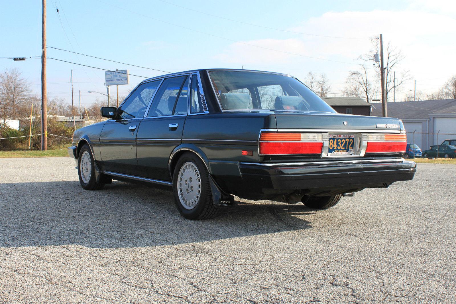 Toyota Of Wilmington >> KIDNEY, ANYONE? 29k-mile 1986 Toyota Cressida   Japanese Nostalgic Car
