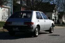 1983 Dodge Colt Twin-Stick Mitsubishi Mirage 07